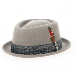 Hat Porkpie Stout Wool Felt Hat Cypress - Brixton