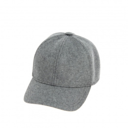 Grey baseball cap