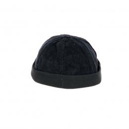 Bonnet miki velours noir