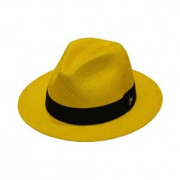 Hat  Panama El Panecillo yellow
