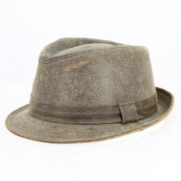 Trilby Roo Hat Kangaroo leather - Jacaru Australia