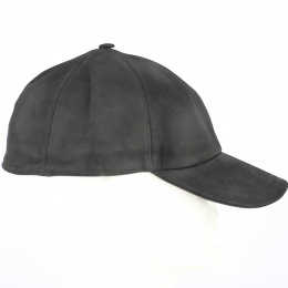 copy of Baseball Cap Rupper Imitation Brown Aged Leather - Crambes
