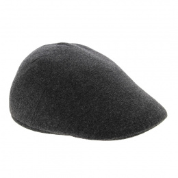 Grey Polo earmuff cap - Crambes