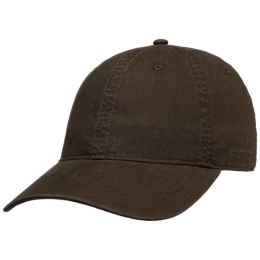 copy of Ducor Dark Beige Cotton Baseball Cap - Stetson