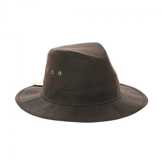 Chapeau huilé Sologne marron