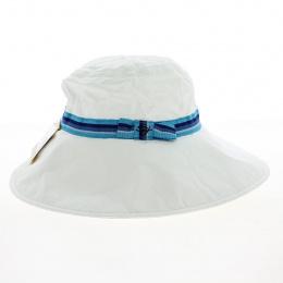 copy of chapeau blanc larges bords anti UV - soway