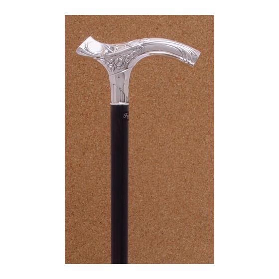 Silver cane