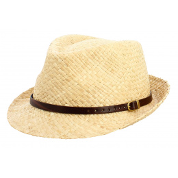 copy of Chapeau Porkpie Renton Raffia Naturel - Stetson