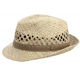 copy of Trilby Hat La Palma Natural Straw - Traclet