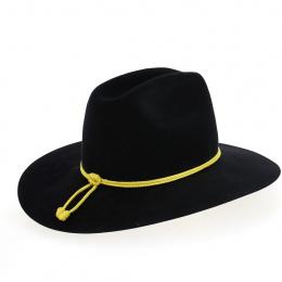 Chapeau confédéré officier noir