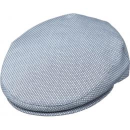 Casquette Plate Coton Cap Noir - Kangol