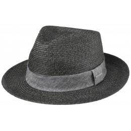 Chapeau de paille Reedley Noir - Stetson