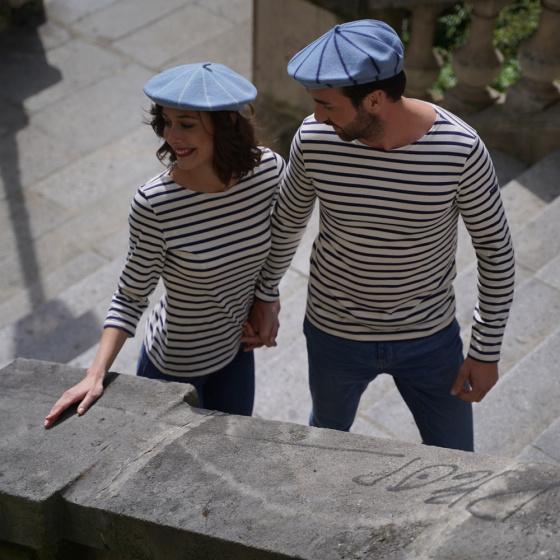 copy of Blue Stripes French Beret- Le Béret Français