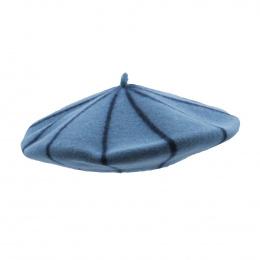 Béret Marinière Bleu Crépuscule - le béret français