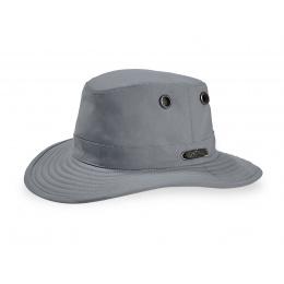The Polaris TP100 Hat Grey Neck Cover - Tilley