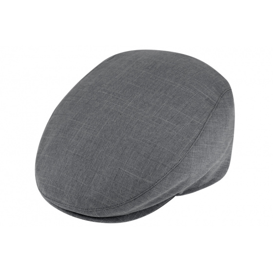 Summer flat cap - Anthracite