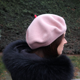 copy of Pink French Beret- Le Béret Français