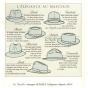 Foldable felt fleece hat