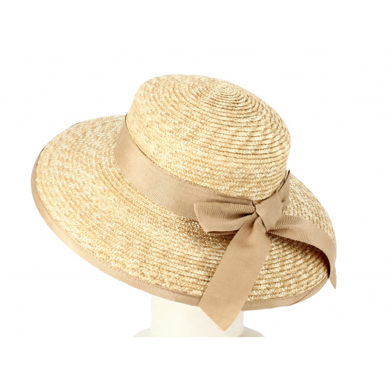 copy of Hepburn Natural Straw Hair Cap Hat - Fléchet