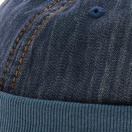 Docker hat - Casquette sans visière bleu jean