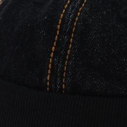 Casquette sans visière jean noir