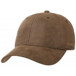 Casquette Baseball Amherst Coton Marron - stetson