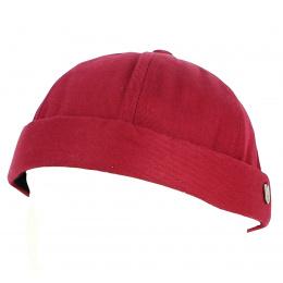 Bonnet Docker Coton Rouge- Traclet