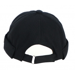 Bonnet Docker Coton Noir - Traclet