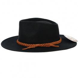 Traveller Whitfield Black Hat - Aussie Apparel