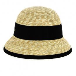 Natural Martika Cloche Hat - Fléchet