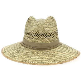 Traveller Hat Columbia Natural Straw Beige - Dorfman Pacific Co