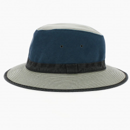 Chapeau Traveller Safari Spenser Bleu  - Crambes