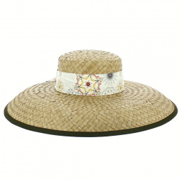 Athena Straw Capeline Natural - Traclet