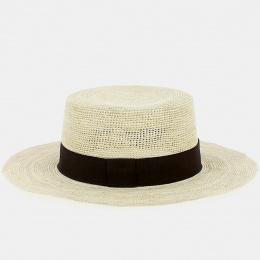Canotier Macas Crochet Panama - Traclet