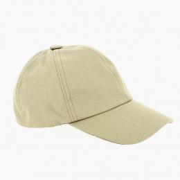 Beige Monochrome Baseball Cap - Fléchet