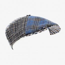 Baptiste Linen Cap Blue - Fléchet
