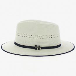 Fedora Alfa White Viscose Hat - Stetson