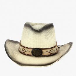 Chapeau Cowboy Kennecott Paille Papier - Traclet