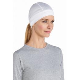 Bonnet Hubbard UV Water Blanc - Coolibar
