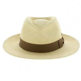 Chapeau Fedora Panama Colmar Beige - Mayser
