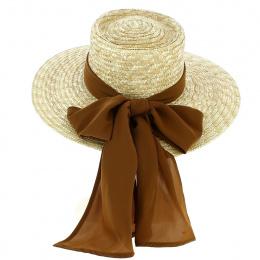 Chapeau de Paille Sun Hat Honey - Brixton