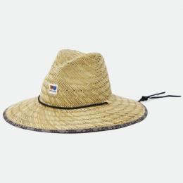 Traveller Alton Natural Straw Hat - Brixton