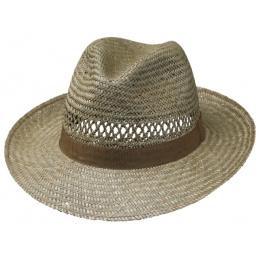 Chapeau Fedora de paille Lior - Traclet