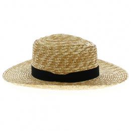 Traveller Hat Natural Straw Planter - Traclet