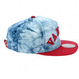 Vandal Blue & Red Strapback Cap - Official