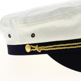 Casquette de marin blanche