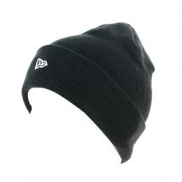 Bonnet Revers Mixte Flag Knit Acrylique Noir - New Era