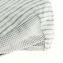 Flat cap 100% cotton, ventilated