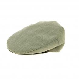 Casquette plate vert parme