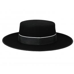 Chapeau Cordobes Andalou Feutre Noir
